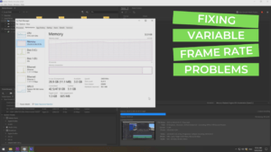 Fixing Variable Frame Rate Files