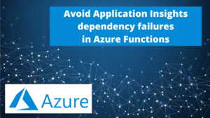 Azure Functions telemetry dependency failures
